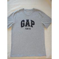Camiseta Masculina Gap Tamanho M Original Nova Importada