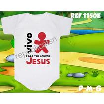 Body Evangélico Vivo Para Seu Louvor Jesus Cristo Gospel