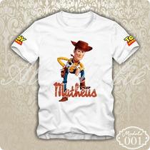 Camisa Camiseta Blusa Personalizada Toy Story Woody Jessie