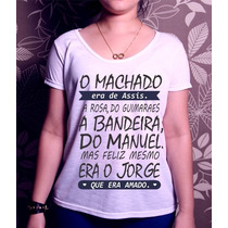 T-shirt O Machado Era De Assis