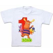 Roupas Blusa Camiseta Personalizada Backyardigans Tyrone