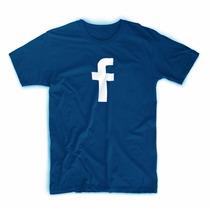 Camiseta Tecnologia Facebook Android Twitter Html Css Git