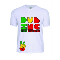 Camisas Camisetas Dub Inc Rasta Reggae Baby Look Festival