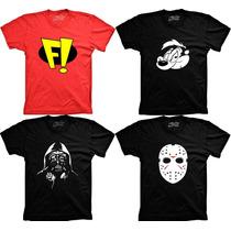 Camisetas Desenho Freakazoid Pepe Le Pe Dart Vader Jason