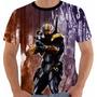Camiseta Exterminador - Deathstroke - Injustice - Games