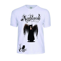 Camisas Camisetas Nightwish Rock Reggae Baby Look Festival