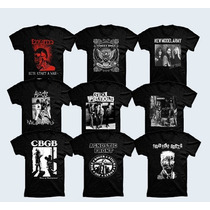Camisetas Punk,rock,ramones,sex Pistols,adicts,exploted
