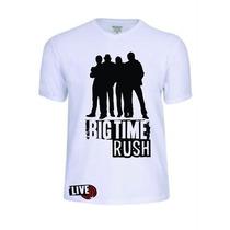 Camisas Camisetas Big Time Rush Babylook Personalizada Linda