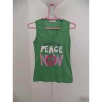 Blusa Verde Peace Paz