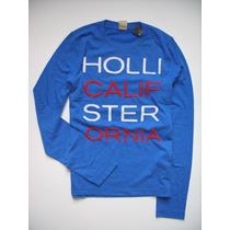 Camiseta Masculina Hollister Blusas Abercrombie Aeropostale