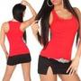 Camiseta Regata Feminina Nadador Viscolycra Camiseta Blusa