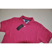 Camiseta Gola Polo Juvenil - Tommy Hilfiger - Original