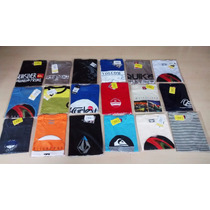 Kit 30 Camisetas Quiksilver Bilabong Hurley Atacado Original