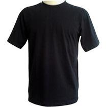 Camisetas Preta Lisas (a Melhor Para Silk E Transfer Sublim)