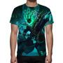 Camisa, Camiseta League Of Legends Tresh Guardião Correntes