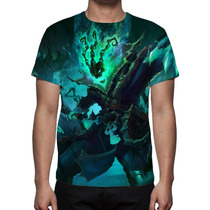 Camisa, Camiseta League Of Legends Tresh Guardião Correntes