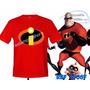 Camiseta Os Incriveis Personagem Super Heróis Infantil