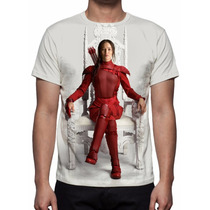 Camisa, Camiseta Filme Jogos Vorazes A Esperança Parte 2