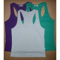 Camiseta Regata Nadador Malha Fria Dryfit Várias Cores P/gg
