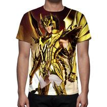 Camisa, Camiseta Cavaleiros Do Zodíaco Ikki De Fenix