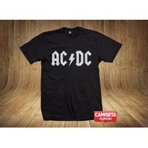 Camiseta Ac/dc Banda Rock Angus Young Jailbreak Tnt Highway