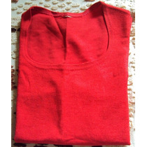 010 Rop- Roupa Blusa Camiseta Moda Atual- Vermelha