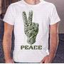 Camiseta Pronta Entrega Masculina Peace