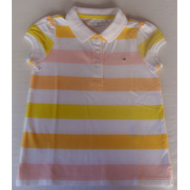 Camisa Polo Tommy Hilfiger Kids Para Menina - Lançamento!