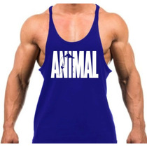 Combo 5x Regata Super Cavada Animal Musculação Bodybuilding