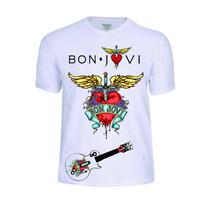 Camisas Camisetas Bon Jovi Banda Baby Look Rock Conjunto Pop