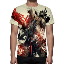 Camisa, Camiseta Assassins Creed 2 Ezio - Estampa Total