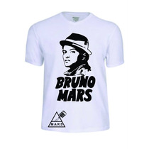 Camisas Bruno Mars Pop Rapper Banda Rock Baby Look Camisetas