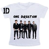 Camiseta Baby Look One Direction + Caderno + Caneca