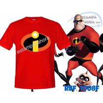 Camiseta Os Incriveis Personagem Super Heróis Homem Aranha