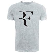 Camiseta Roger Federer Passeio Personalizado Passeio Tênis