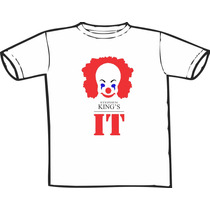 Camiseta Stephen King It Estampas Exclusivas! Só Nós Temos!