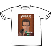 Camiseta Breaking Bad Estampas Exclusivas! Só Nós Temos!