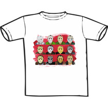Camiseta Jason Sexta 13 Estampas Exclusivas! Só Nós Temos!
