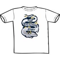 Camiseta História Sem Fim Estampas Exclusivas! Só Nós Temos!
