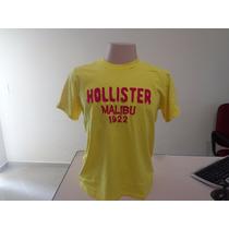Camiseta Hollister Original Pronta Entrega Oferta