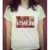 Babylook Camiseta Estampada Girls Generation - Snsd Kpop