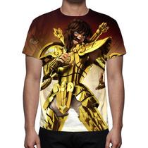 Camisa, Camiseta Cavaleiros Do Zodíaco Dohko De Libra