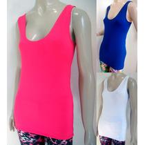 Camiseta Regata Costa Nadador Em Suplex Fitness + Comprida