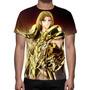 Camisa, Camiseta Cavaleiros Do Zodíaco Mu De Aries