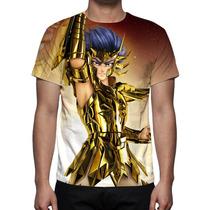 Camiseta Cavaleiros Do Zodíaco Máscara Da Morte De Cancer