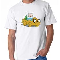Camiseta Adulto Ou Infantil Finn E Jake A Hora De Aventura