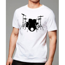 007- Camisetas Bateria