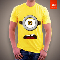 Camiseta Minions Meu Malvado Favorito Desenho Animado Camisa