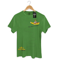 Camiseta Masculina Oficial The Beatles The Sea Of Green