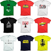 Camisetas Series Seriados Bazinga Breaking Bad The Big Bang